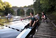 Rowing is one of the sport activities offered by Durham Boarding School