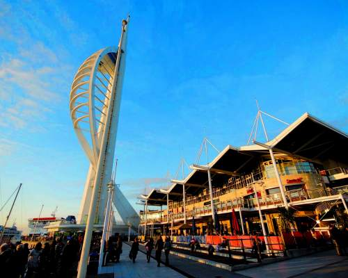Portsmouth is a versatile destination for language courses in southern England