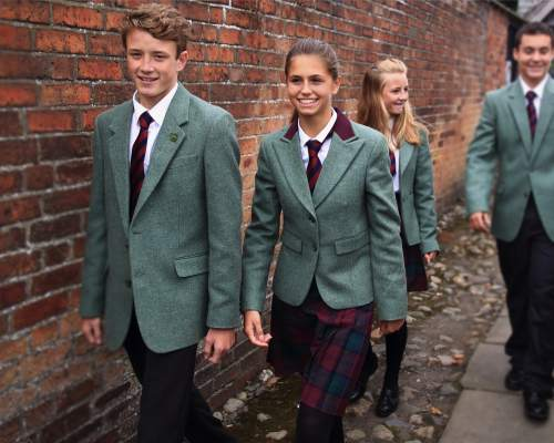 Oswestry Boarding School Uniform