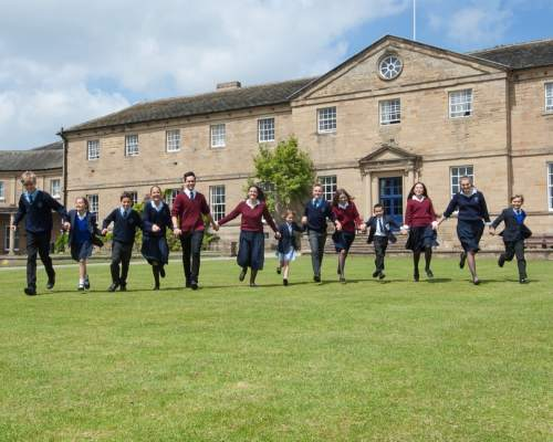 Ackworth Boarding School in England